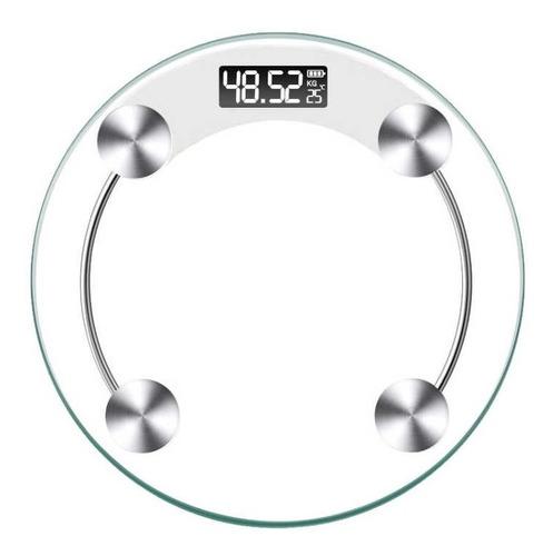 Balanza De Baño 180kg Digital  Lcd Electronica De Vidrio