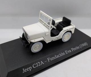 Jeep (1955) Fundacion Eva Peron 1/43 Servicio