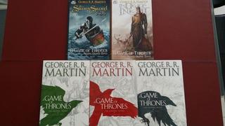 Game Of Thrones 5 Edições Graphic Novel Hq George Rr Martin
