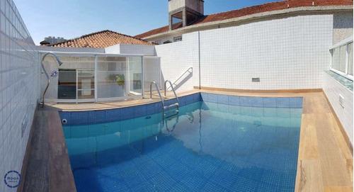 Imagem 1 de 20 de Casa Com 4 Dorms, Campo Grande, Santos - R$ 1.4 Mi, Cod: 19055 - V19055