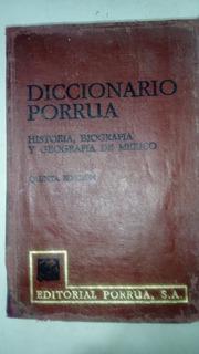 Diccionario Historia, Biografía Y Geografía De México