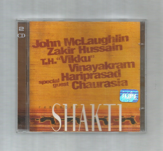 Remember Shakti John Mclaughlin Hussain Vinayakram 2cd Usado