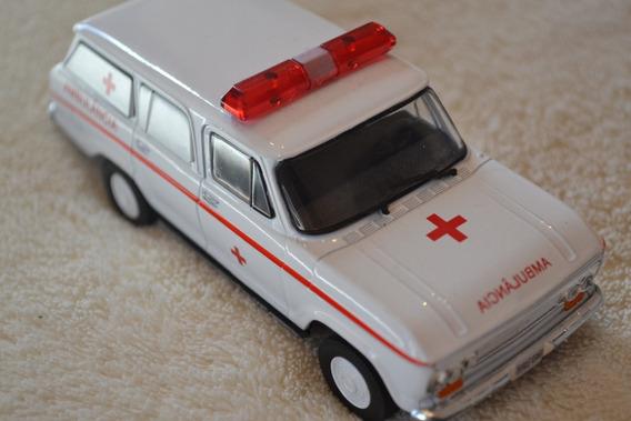 Miniatura Chevrolet Veraneio Ambulância - Escala 1/43