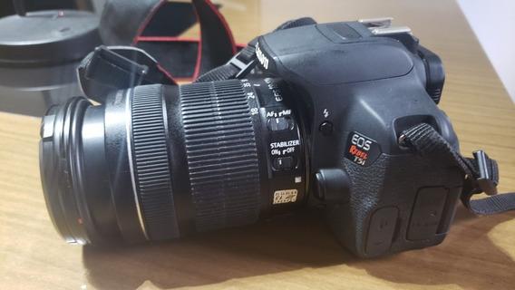 Câmera Fotográfica Canon T5i , Lente 18-135