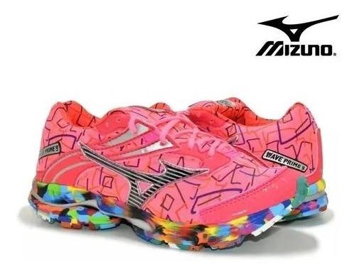 Tenis Mizuno Feminino Wave Prime Pro 9 Treino Envio Imediato
