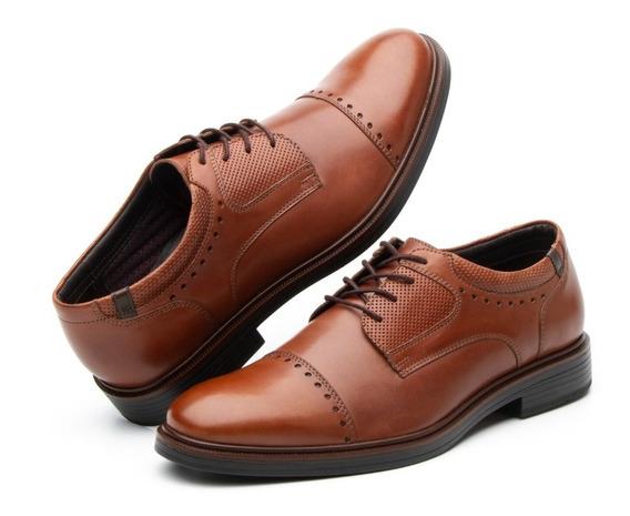 Calzado Zapato Flexi Hombre 400102 Tan Casual