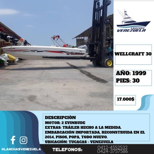 Lancha Wellcraft 30 Lv346
