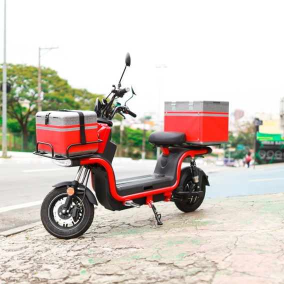 Moto Scooter Elétrica 120 Km Autonomia Entrega Cargo 60km/h