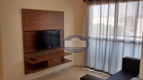 Apartamento Com 1 Dormitório Para Alugar, 37 M² Por R$ 1.200,00/mês - Jardim Sumaré - Araçatuba/sp - Ap0404