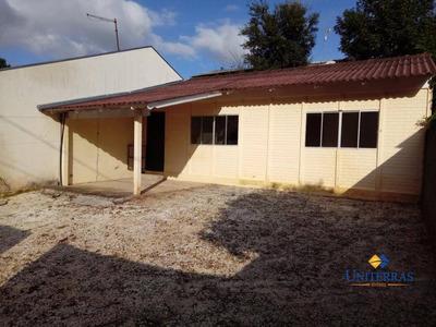 Casa Com 2 Quartos Para Alugar Em Colombo - Jardim Ana Rosa Ii - Ca0116