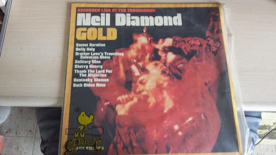 Lp - Neil Diamond Gold Recorded Live At Troubadour