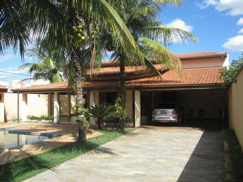 Casa Com 5 Dormitórios À Venda, 561 M² Por R$ 1.200.000,00 - Morumbi - Paulínia/sp - Ca0290