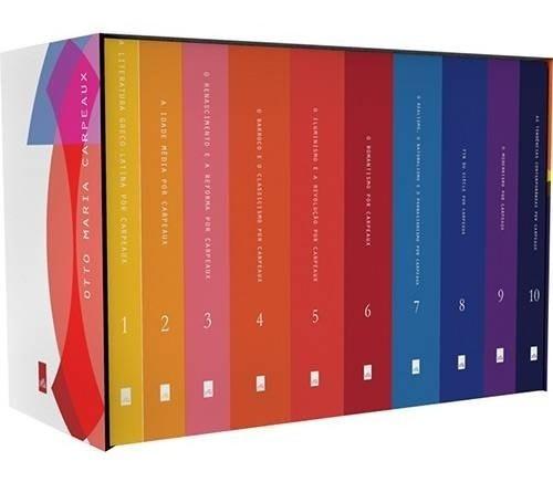 Box História Da Literatura Ocidental - 10 Volumes
