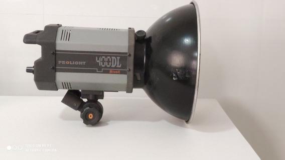 Kit 2 Flash De Estúdio Prolight 400 Bivolt+2 Tripé+transmiss