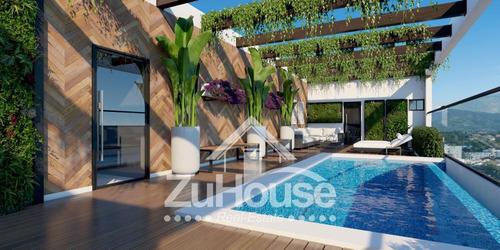 Apartamento En Planos En Zona Céntrica De Santiago Za05 C