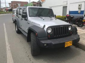 Jeep Wrangler Rubicon 2009, Como Nueva