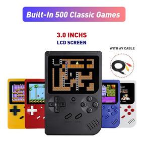 Mini Jogo Console Retro Gameboy Construído Em 500 Jogos