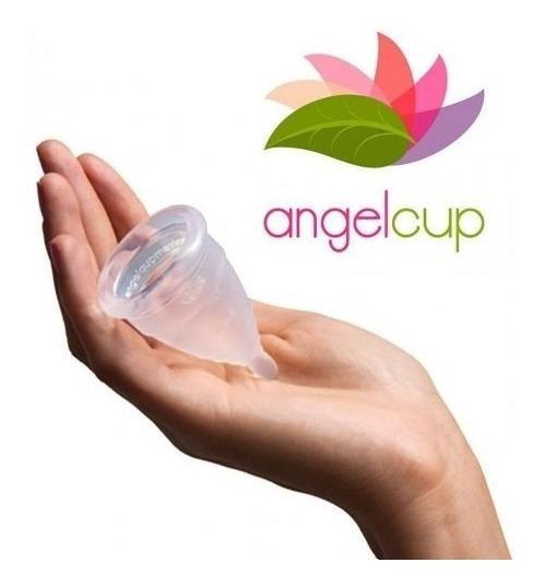 Copa Menstrual Ángelcup (silicón De Grado Médico) + Regalito