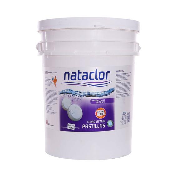 Pastillas De Cloro Activo 50gr De 20kg Nataclor Rinde +