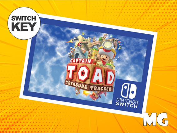 Captain Toad Treasure Tracker - Jogo Nintendo Switch Digital