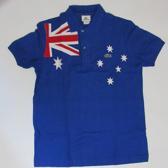 Camisa Polo Lacoste Países - Country Flag - Frete Grátis