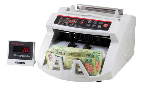 Contadora De Billetes Máquina Contar + Lapiz Detector Falsos