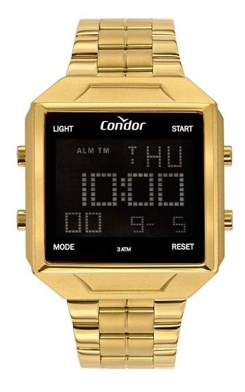 Relógio Condor Masculino Cobj2649ae/4d Dourado Digital
