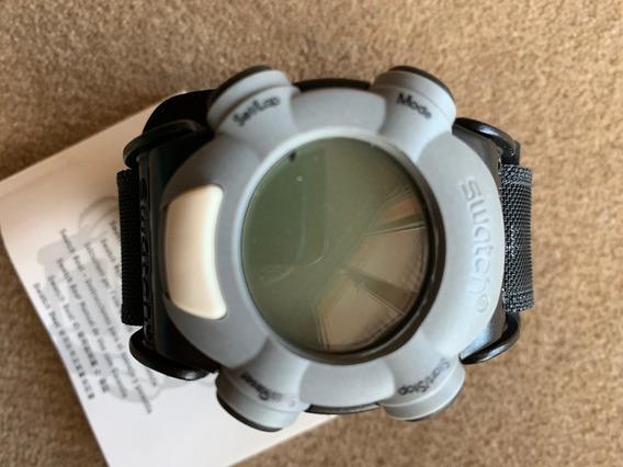 Relogio Swatch Beat,sdb1015,sem Uso,caixa E Manual,ano 1999