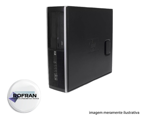 Pc Hp Compaq 4000pro Core2duo E8400 2gb Ram Hd 320gb C/ Wifi