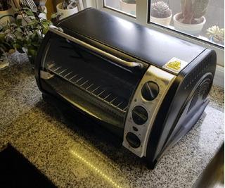 Horno Electrico Black+decker Cto500b-ar Usado