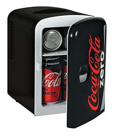 Mini Heladera Coca-cola Zero P/ 6 Latas 4 L 12 V Dc Cosme Ø
