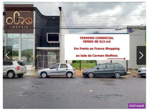 Terreno À Venda, 613 M² Por R$ 1.200.000 - Residencial Amazonas - Franca/sp - Te0168