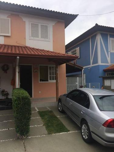 Imagem 1 de 7 de Lindo Sobrado À Venda - 3 Dormitórios - 2 Vagas - Taboão - São Bernardo Do Campo - Sp - 55050