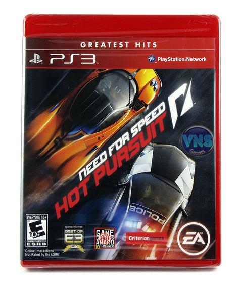 Need For Speed Hot Pursuit - Play3 - Mídia Física - Lacrado