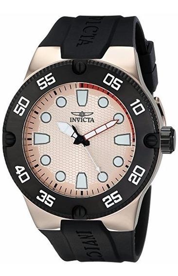 Relógio Invicta Pro Diver Analog - Dourado Rose - Promoção