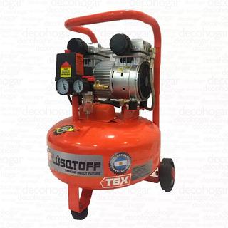 Compresor De Aire Mini Portatil 25 Litros 220v Lusqtoff