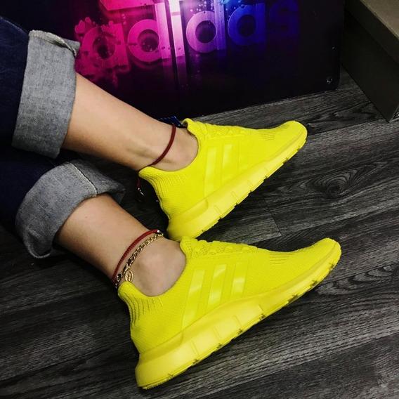 imagenes de zapatos adidas dama amarilla