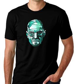 Camiseta Preta Breaking Bad Série Heisenberg White Break 4