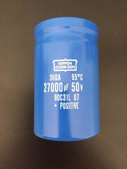 Capacitor 27000uf X 50v