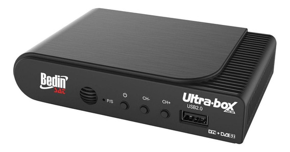 Receptor E Conversor Digital Ultra Box Hd Usb 2.0 Bedin Sat