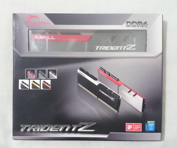 Memoria Gskill Trident Z Ddr4 4000mhz 8gb (2x4gb) Z370 Z390