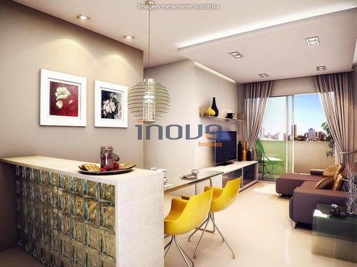 Imagem 1 de 7 de Apartamento Com 3 Dormitórios À Venda, 71 M² - Guararapes - Fortaleza/ce - Ap0094