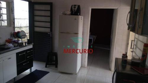Casa Com 4 Dormitórios À Venda, 148 M² Por R$ 350.000,00 - Vila Cardia - Bauru/sp - Ca3047