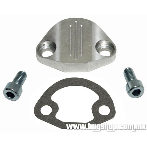 Tapa De Bomba De Gasolina Pulida De Aluminio Empi