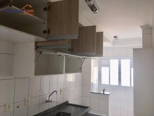 Lindo Apartamento Com 2 Dormitórios À Venda, 63 M² Por R$ 290.000 - Bosque Dos Eucaliptos - São José Dos Campos/sp - Ap5427