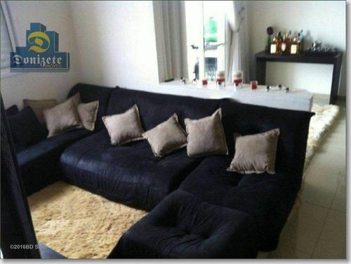 Apartamento À Venda, 75 M² Por R$ 470.000,00 - Vila Alzira - Santo André/sp - Ap1461