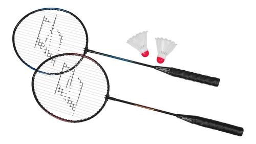 Set Raquetas Badminton Bolso 2 Gallitos