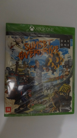 Sunset Overdrive Xbox One - Mídia Física - Novo E Lacrado