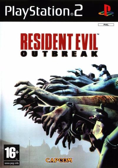 Resident Evil Outbreak Play2