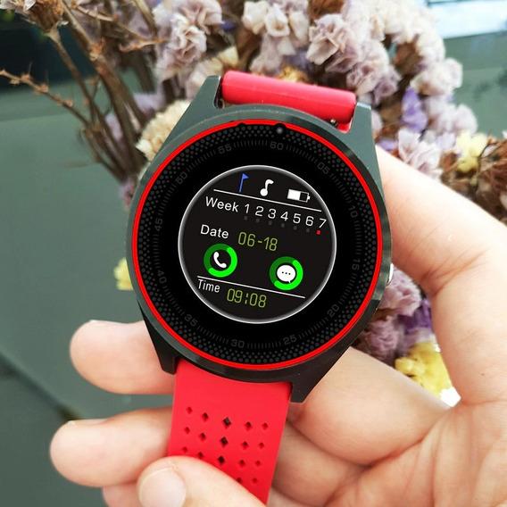 Smartwatch Relog Inteligente Taltil V9 Pulsaciones
